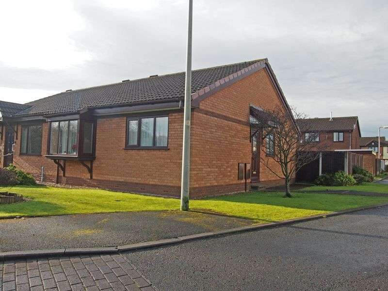 2 Bedrooms Semi Detached Bungalow for sale in Redwood Drive, Bare, Morecambe