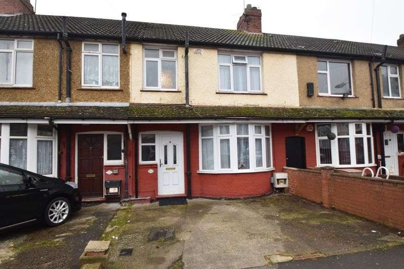 3 Bedrooms Terraced House for sale in Harefield Road, Luton