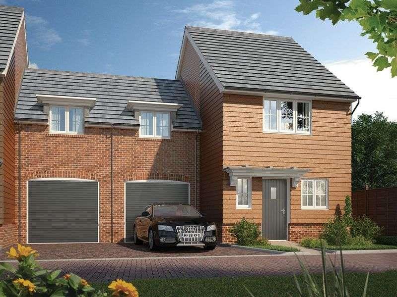 3 Bedrooms Semi Detached House for sale in The Burnham, Bessels Way, Blewbury.