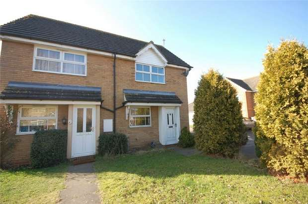 2 Bedrooms Semi Detached House for sale in Rye Close, Aylesbury, Buckinghamshire