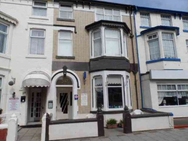 Hotel Gust House for sale in Hornby Road Blackpool