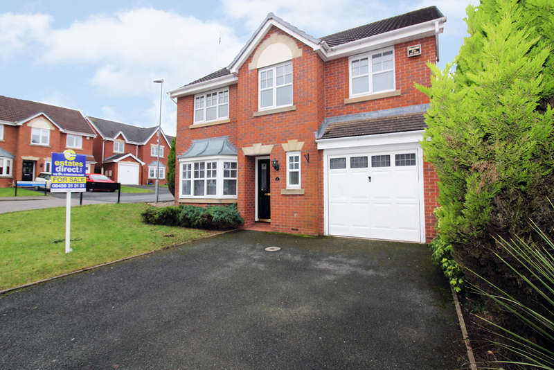 5 Bedrooms Detached House for sale in Grosmont Avenue, Worcester, Worcester, WR4