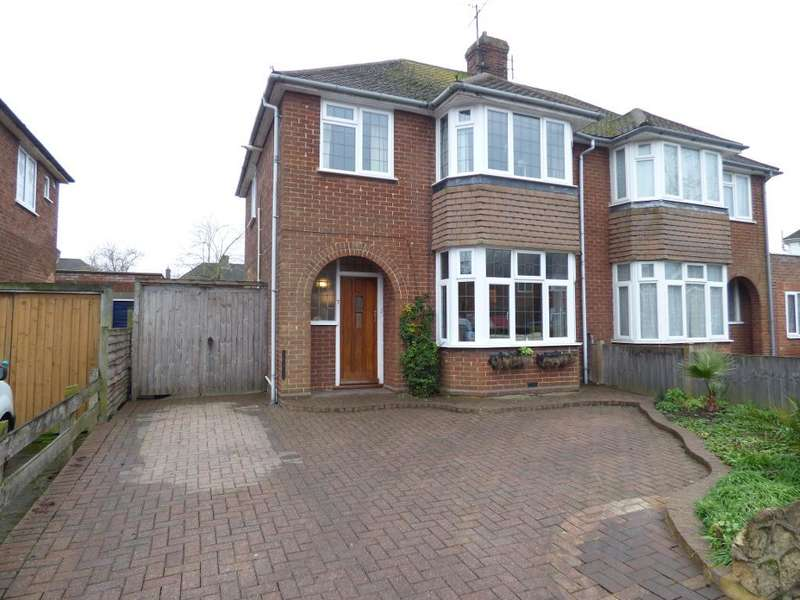 3 Bedrooms Semi Detached House for sale in Risborough Road, Bedford, MK41 9QS