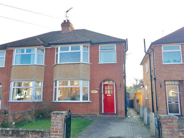 3 Bedrooms Semi Detached House for sale in Brunswick Road, Ipswich