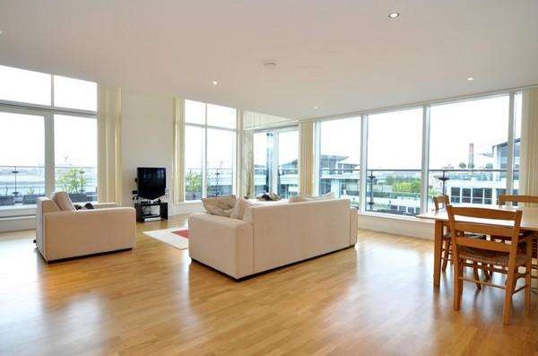 3 Bedrooms Flat for sale in Aspect Court, Lensbury Avenue, Imperial Wharf, SW6
