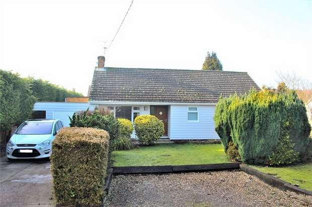 3 Bedrooms Detached Bungalow for sale in Dunmow, Essex