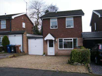 3 Bedrooms Link Detached House for sale in Lance Drive, Chase Terrace, Burntwood, Staffordshire