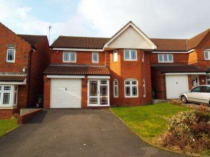 4 Bedrooms Detached House for sale in Aster Way, Walsall, West Midlands