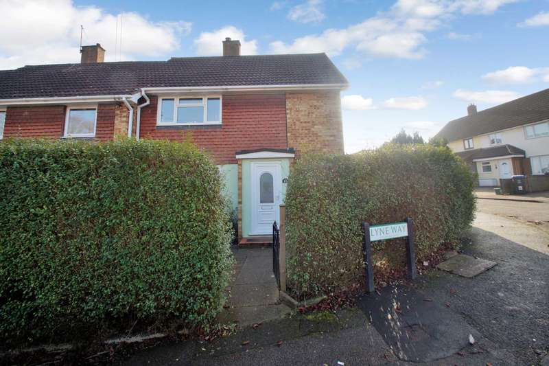 3 Bedrooms End Of Terrace House for sale in Lyne Way, Warners End, Hemel Hempstead