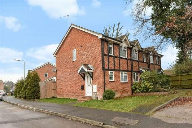 2 Bedrooms Semi Detached House for sale in Sandstone Close, WINNERSH, Berkshire