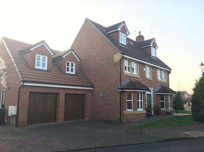 5 Bedrooms Detached House for sale in Holford Moss, Sandymoor, Cheshire, WA7