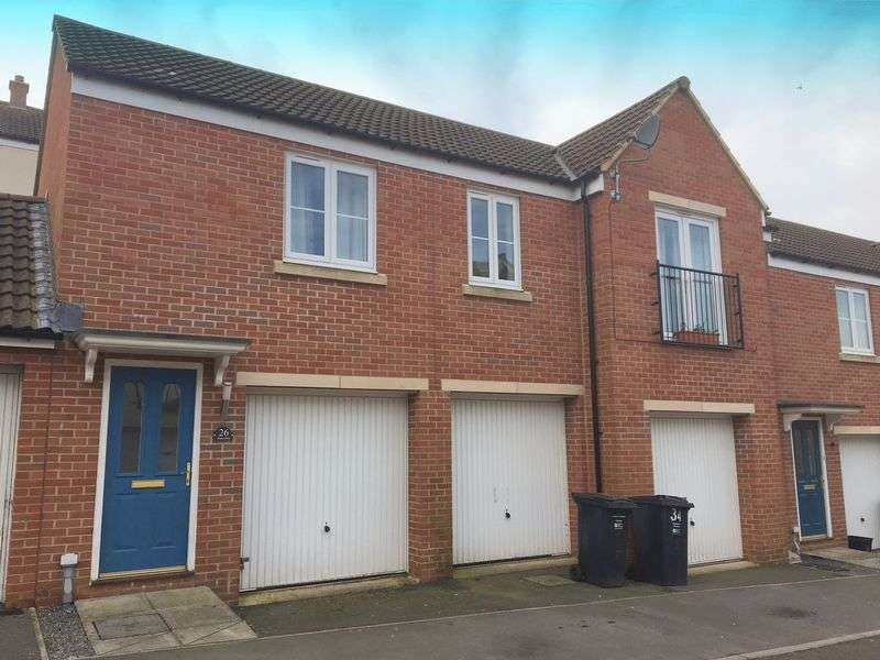 2 Bedrooms Terraced House for sale in Slipps Close, Frome
