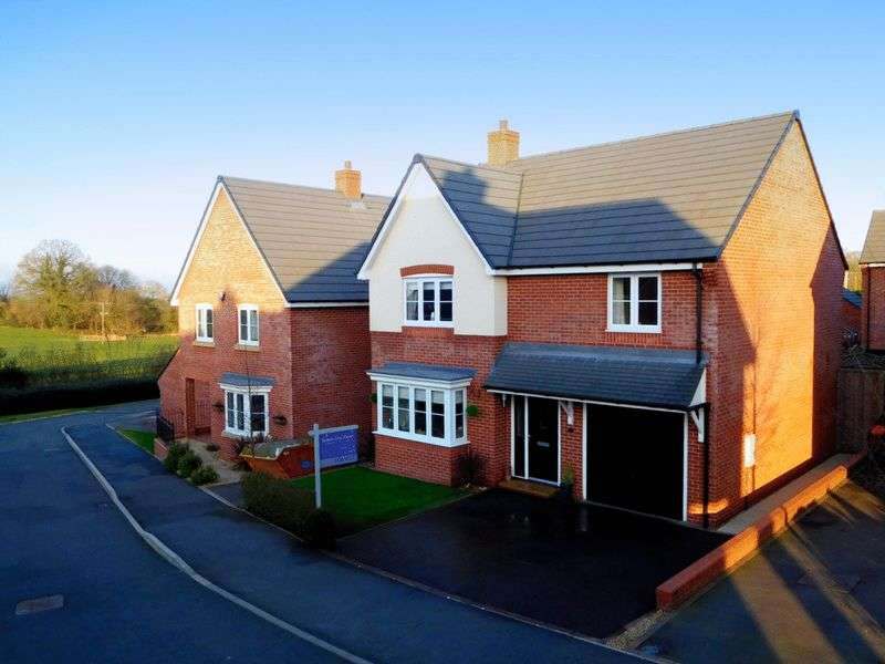 4 Bedrooms Detached House for sale in Syllenhurst View, Woore