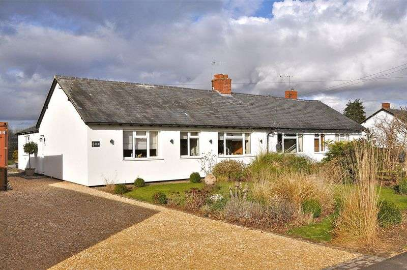 3 Bedrooms Semi Detached Bungalow for sale in Three Cocks Lane, Offenham, Evesham, WR11 8RY