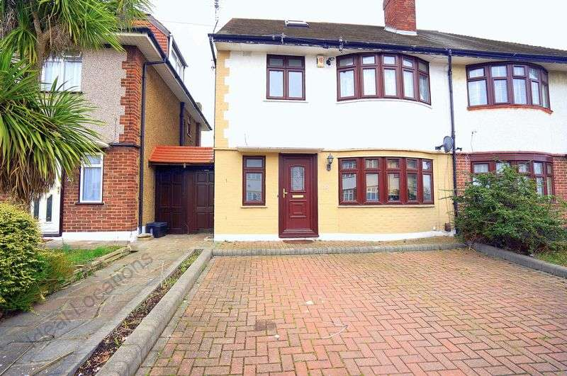 4 Bedrooms Semi Detached House for sale in 4 Bedroom Semi-Detached House, Middleton Gardens, Gants Hill, Ilford
