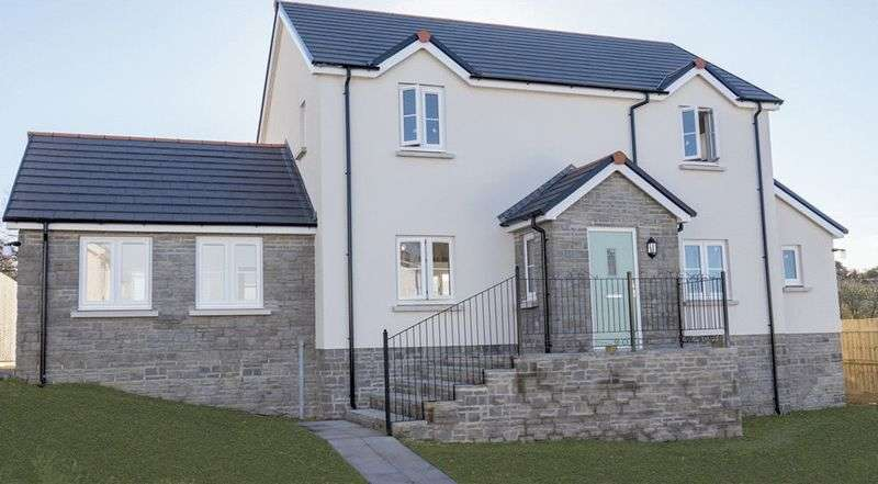 4 Bedrooms Detached House for sale in Plot 23, Green Meadows Park, Tenby, SA70 8BD