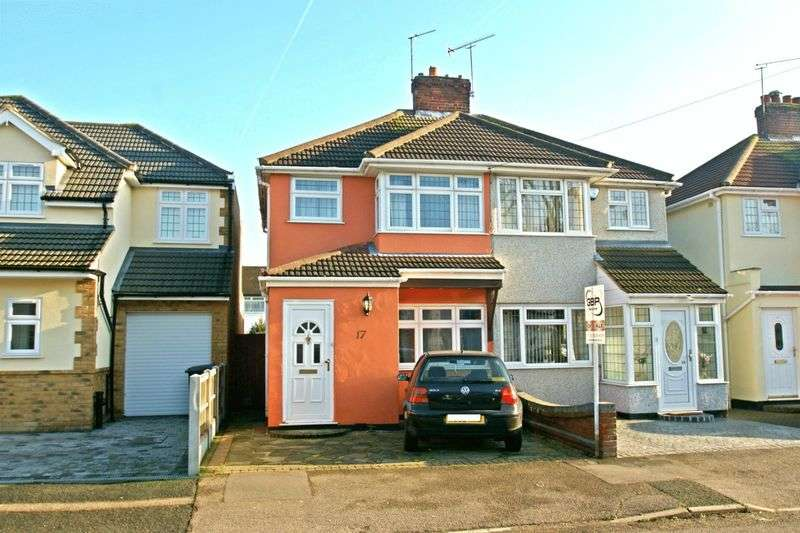 2 Bedrooms Semi Detached House for sale in Calbourne Avenue, Elm Park 349,950
