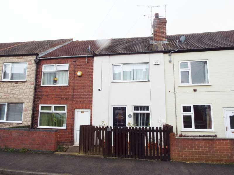 3 Bedrooms Terraced House for sale in Duke Street, Creswell, Worksop.
