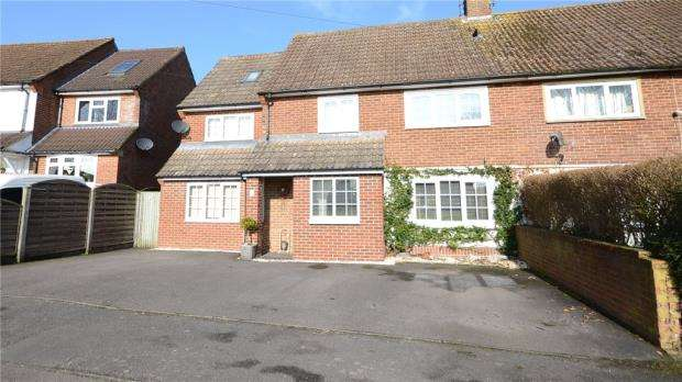 4 Bedrooms Semi Detached House for sale in Anderson Crescent, Arborfield Cross, Reading
