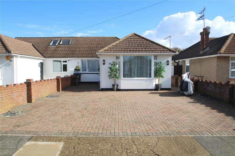 2 Bedrooms Semi Detached Bungalow for sale in Barfield Park, Lancing, West Sussex, BN15