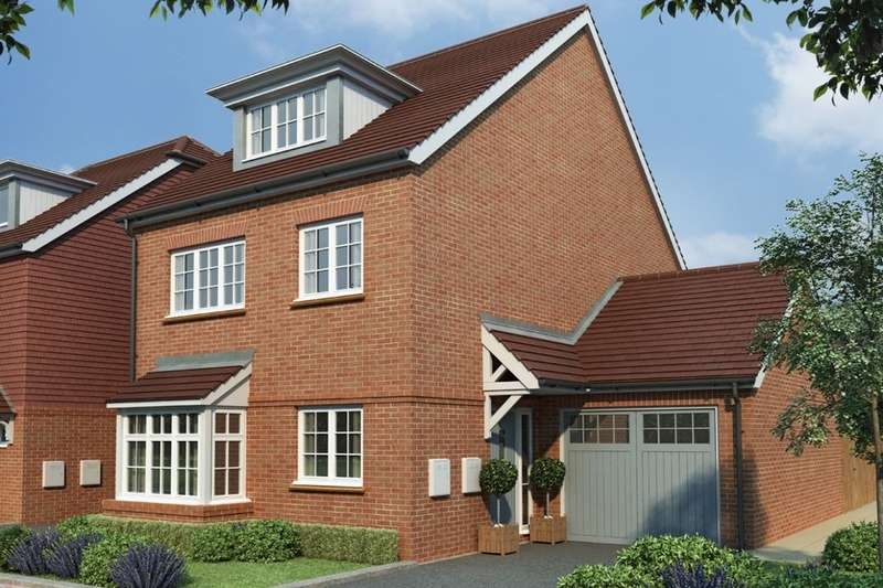 4 Bedrooms Detached House for sale in Tudeley Lane, Tonbridge, TN11