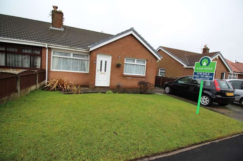 3 Bedrooms Semi Detached Bungalow for sale in Westmeade Road, Worsley, Manchester, M28