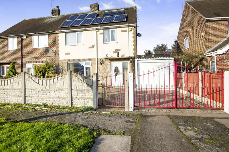 3 Bedrooms Semi Detached House for sale in The Glebe, Cossall, Nottingham, NG16