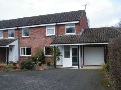 3 Bedrooms Semi Detached House for sale in King Arthur Close, Cheltenham, Gloucestershire