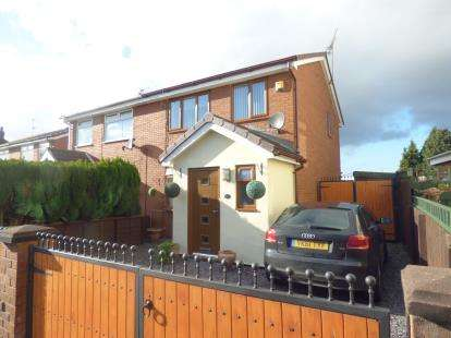 3 Bedrooms Semi Detached House for sale in Halegate Road, Widnes, Cheshire, WA8