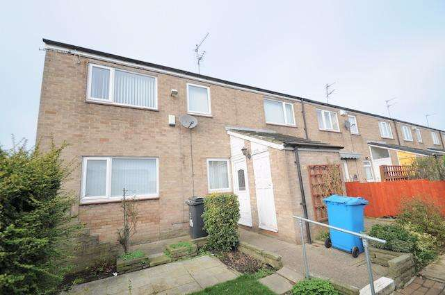 3 Bedrooms End Of Terrace House for sale in Dalwood Close, Bransholme, Hull, HU7 4SB