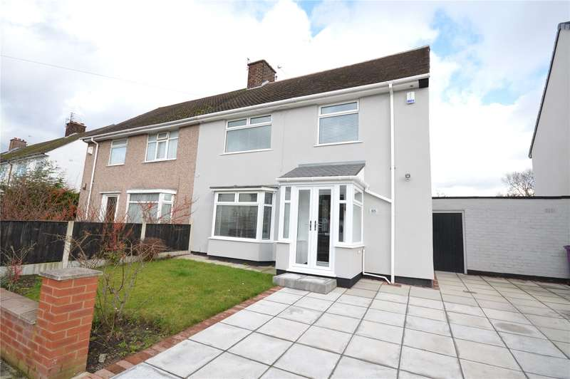 4 Bedrooms Semi Detached House for sale in Walsingham Road, Childwall, Liverpool, L16