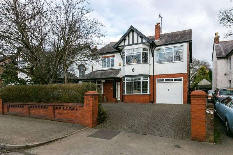 5 Bedrooms Detached House for sale in Wigan Lane, Higher Whitley, WN1 2RD
