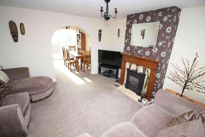 3 Bedrooms Semi Detached House for sale in Radnor Drive, Tonteg, Pontypridd CF38 1LA