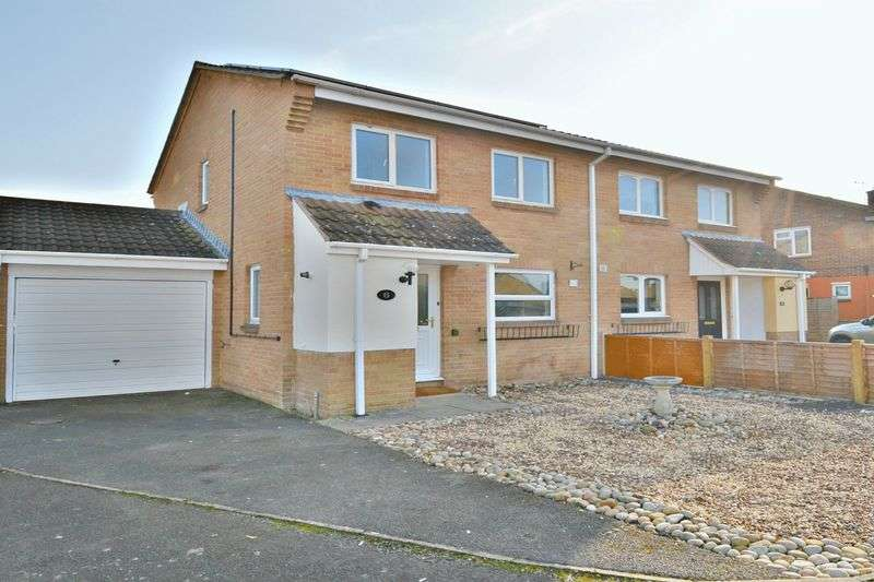 3 Bedrooms Semi Detached House for sale in Caradon Place, Bridgwater