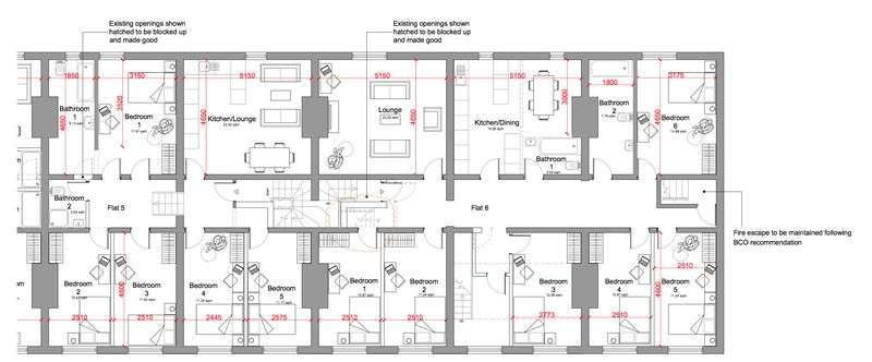 6 Bedrooms Property for rent in 6 Bedroom newly renovated accommodation in the heart of Liverpool City Centre