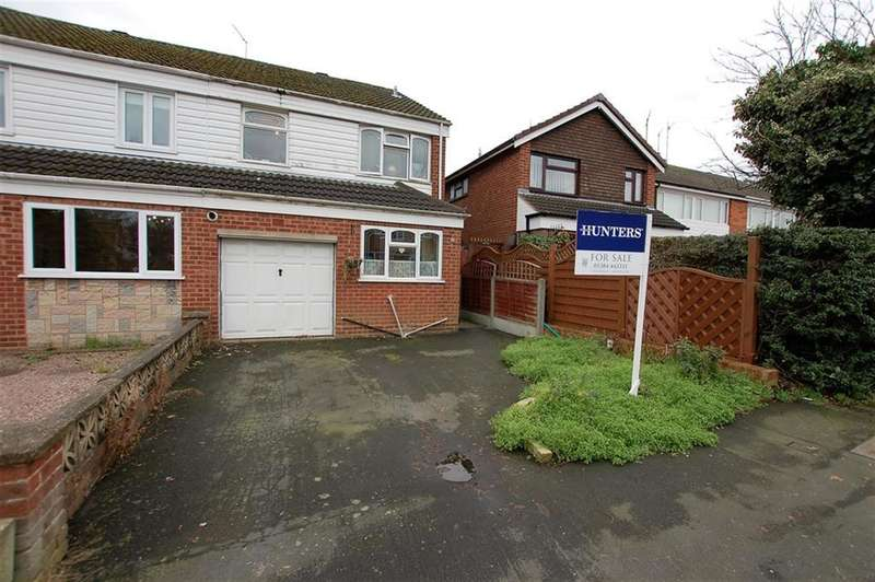 3 Bedrooms Semi Detached House for sale in Cotswold Road, Stourbridge, DY8 4UW