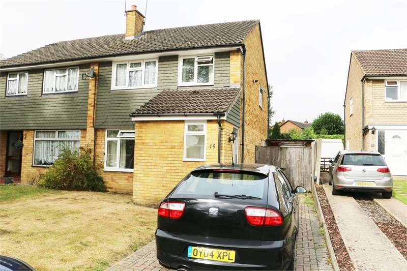 3 Bedrooms Semi Detached House for sale in Gloucester Road, Bagshot, GU19
