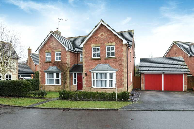 4 Bedrooms Detached House for sale in Blamire Drive, Binfield, Bracknell, Berkshire, RG42
