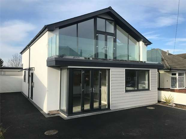 4 Bedrooms Detached House for sale in Whitecliff, Poole, Dorset