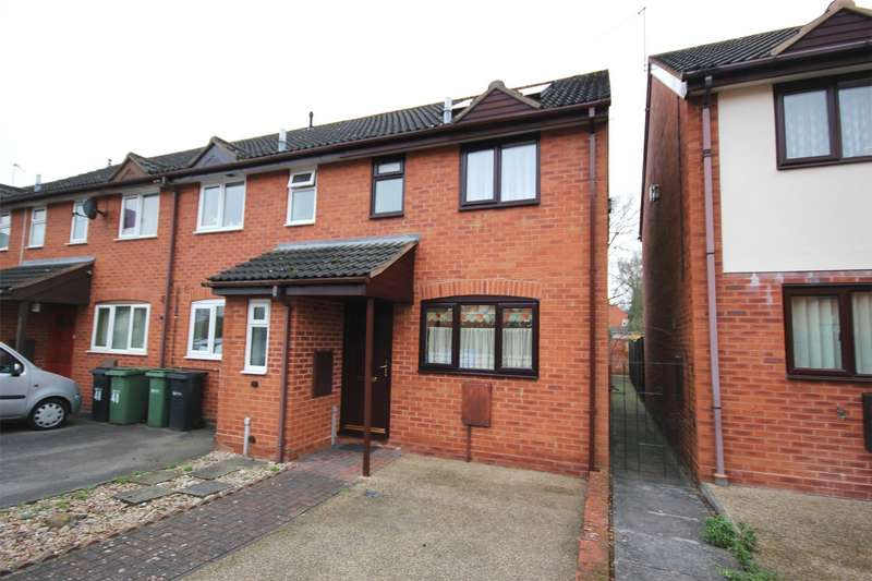 2 Bedrooms End Of Terrace House for sale in Sabrina Avenue, Northwick, Worcester