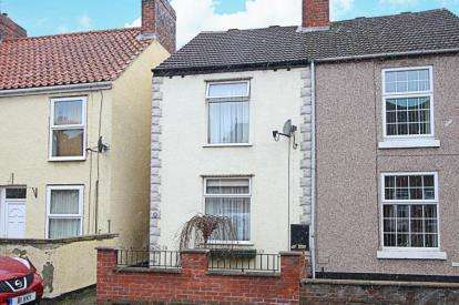 2 Bedrooms Semi Detached House for sale in Wellington Street, New Whittington, Chesterfield, Derbyshire