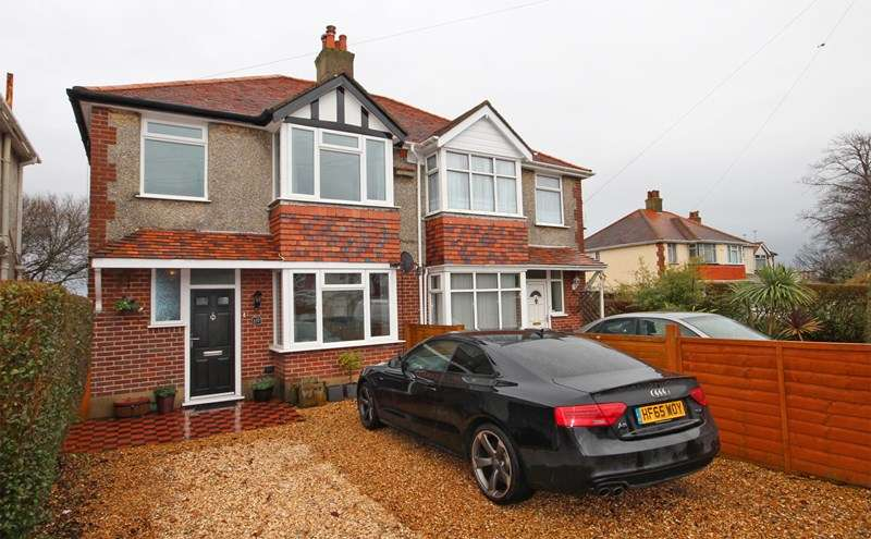 3 Bedrooms Semi Detached House for sale in Cranleigh Road, Tuckton, Bournemouth