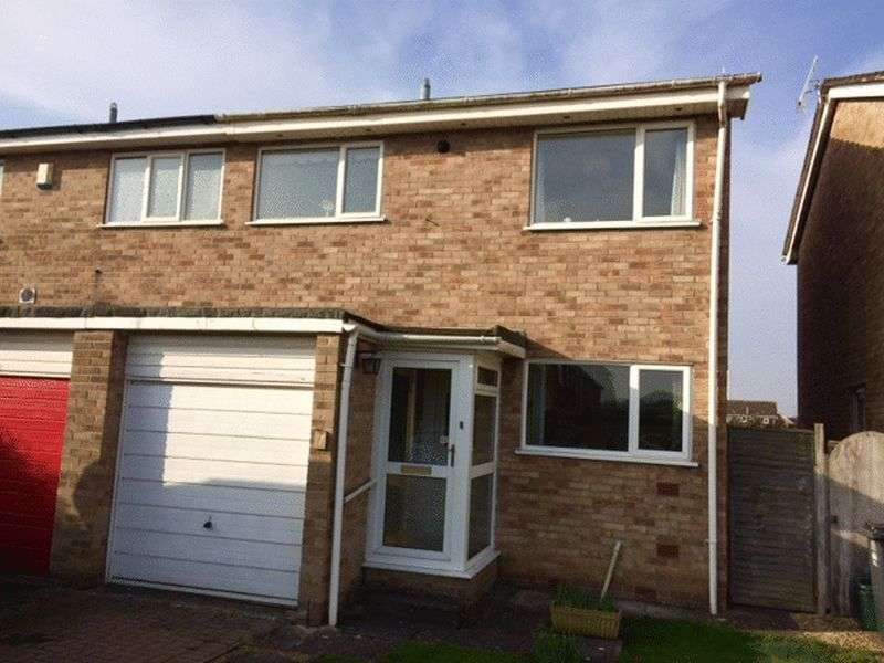 3 Bedrooms Semi Detached House for sale in Meadow Croft, Weston-Super-Mare