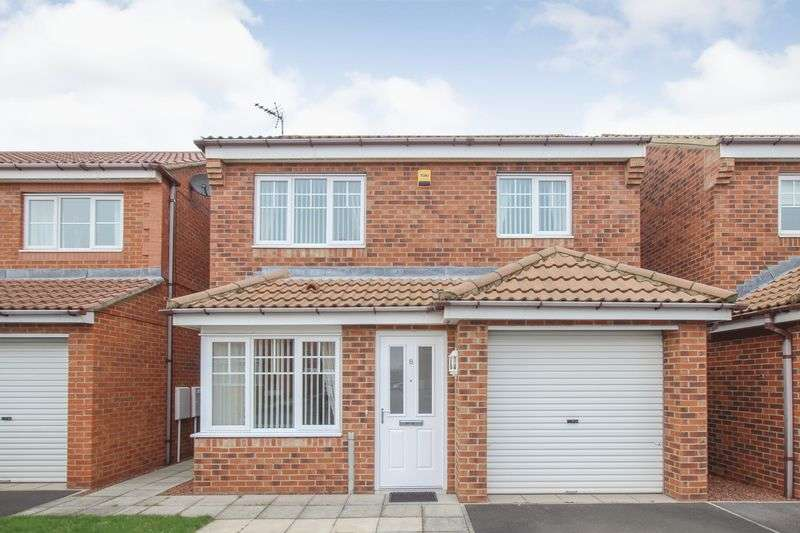 3 Bedrooms Detached House for sale in Whitstable Gardens, Redcar
