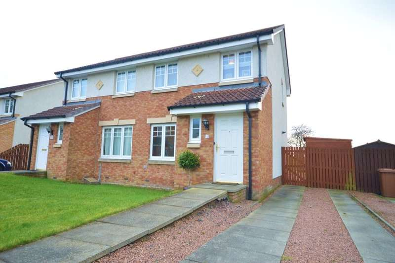 3 Bedrooms Semi Detached House for sale in Rosin Court, Kirkcaldy, KY1