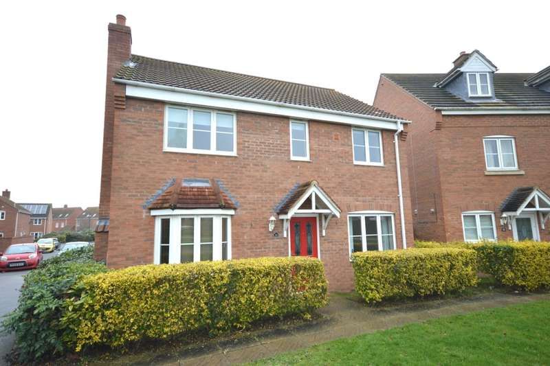 4 Bedrooms Detached House for sale in Elder Close, Witham St. Hughs, Lincoln, LN6