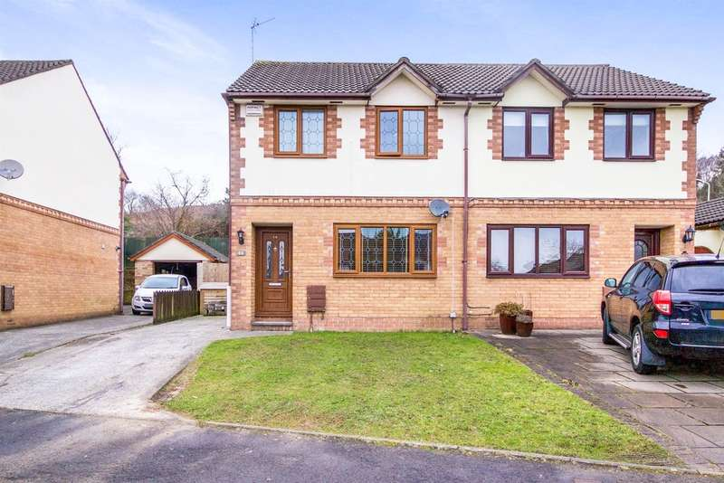 3 Bedrooms Semi Detached House for sale in Hazel Mead, Brynmenyn, Bridgend