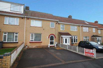 3 Bedrooms Terraced House for sale in Pettigrove Gardens, Kingswood, Bristol