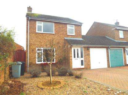 3 Bedrooms Link Detached House for sale in Fife Close, Stamford, Lincolnshire, .