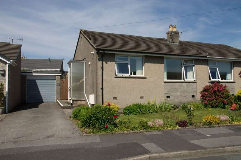 2 Bedrooms Semi Detached Bungalow for sale in 25 Wray Crescent, Kendal, Cumbria LA9 7NX